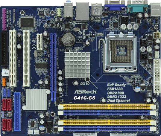 Asrock-G41C-GS-Socket-775-Motherboard-top-view_AsrockMotherboard.com_